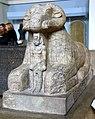 Ram sphinx of king Taharqa (Taharqo), 25th (Kushite) Dynasty, 690-664 BCE. From Kawa, Sudan. British Museum, London.jpg