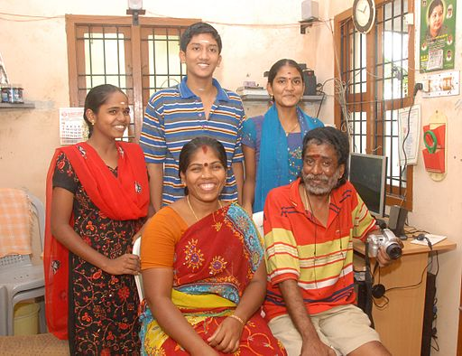 Rama Sethu Family Photo