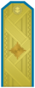 Rank insignia of Бригаден генерал of the Bulgarian Air forces.png