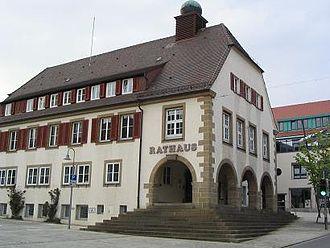 Holzgerlingen - Image: Rathaus holzgerlingen