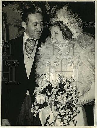 Ray Dodge - Image: Ray Dodge marriage 1935