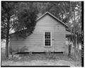 Rear view of 121 Academy Street - 121 Academy Street (House), Sumter, Sumter County, GA HABS GA,131-AMER,6-4.tif