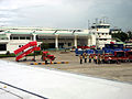 Rear view of the airport in Agartala.jpg