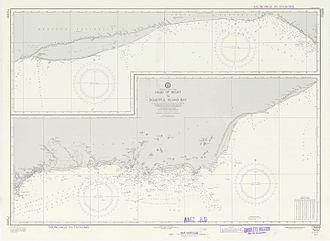 Recherche Archipelago - Nautical Chart showing the archipelago