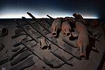 Recreació d'un peci del segle I aC. Museu de Prehistòria de València.JPG