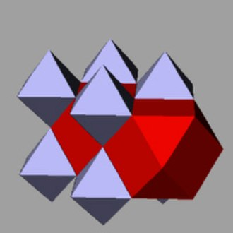 Rectification (geometry) - A rectified cubic honeycomb – edges reduced to vertices, and vertices expanded into new cells.