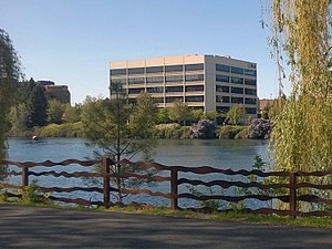 Red Lion Hotels Corporation - Red Lion Hotels Corporation's Spokane regional office, formerly its corporate headquarters