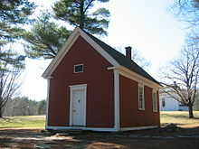 The Redstone School 1798 Now In Sudbury Machusetts Is Believed To Be Schoolhouse Mentioned Nursery Rhyme