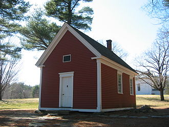 Mary Had a Little Lamb - The Redstone School (1798), now in Sudbury, Massachusetts, is believed to be the schoolhouse mentioned in the nursery rhyme.