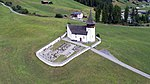 Reformed church of Davos Frauenkirch, aerial photography 3.jpg