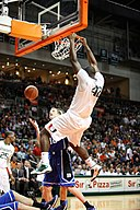Reggie Johnson dunks (2011).jpg