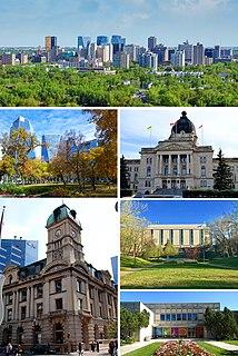Regina, Saskatchewan Provincial capital city in Saskatchewan, Canada