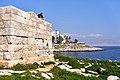 Remains of a tower from the Conon Walls (Akti Theistokleous, Piraeus) on 22 February 2019.jpg