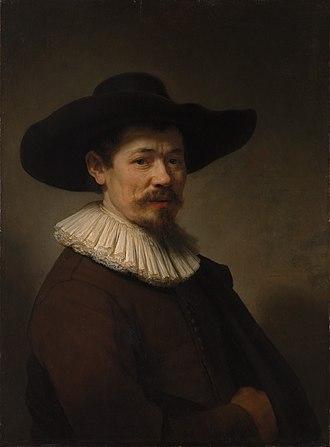 1640 in art - Image: Rembrandt van Rijn Harmen Doomer circa 1640