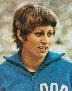 Renate Stecher - Image: Renate Stecher c 1974