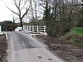 Repaired Bridge over Stream, Low Common - geograph.org.uk - 350504.jpg