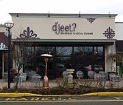 Restaurant in New Jersey contraction for 'Did you Eat?'