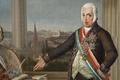 Retrato do Príncipe Regente D. João (1802), pormenor D. João - Domingos Sequeira.png
