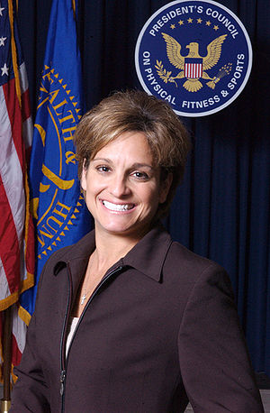 Fairmont, West Virginia - Mary Lou Retton, the first female gymnast from outside Eastern Europe to win the Olympic all-around title