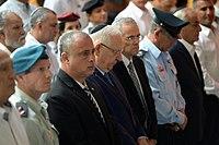 Reuven Rivlin speaking at the memorial ceremony to Yom Kippur War casualties, October 2017 (2061).jpg