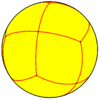 Rhombic dodecahedron spherical.png
