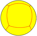 Rhombic hexahedron spherical.png