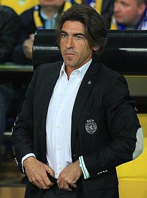 Ricardo Sá Pinto - Pinto with Sporting in 2012