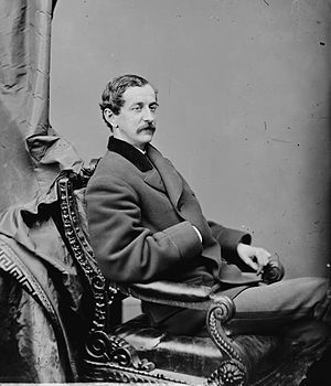 Richard Cunningham McCormick - Richard C. McCormick between 1860 and 1875.