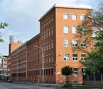 Gedeon Richter plc - Production building of the company in Budapest