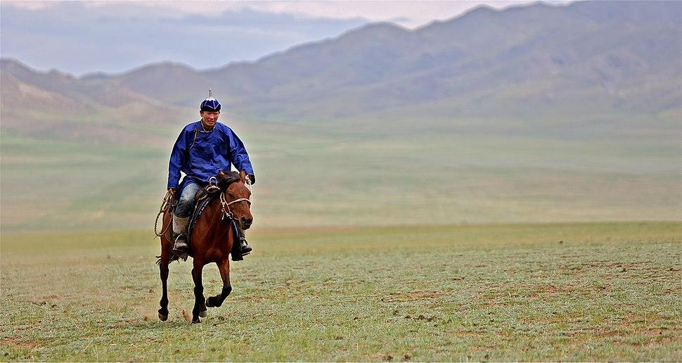 Rider in Mongolia, 2012
