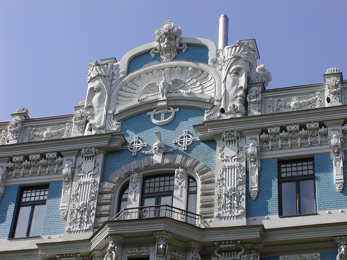 Art nouveau a riga wikipedia for Architettura a parigi