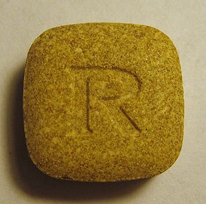 A 100 mg Rimadyl pill bought in the United Sta...