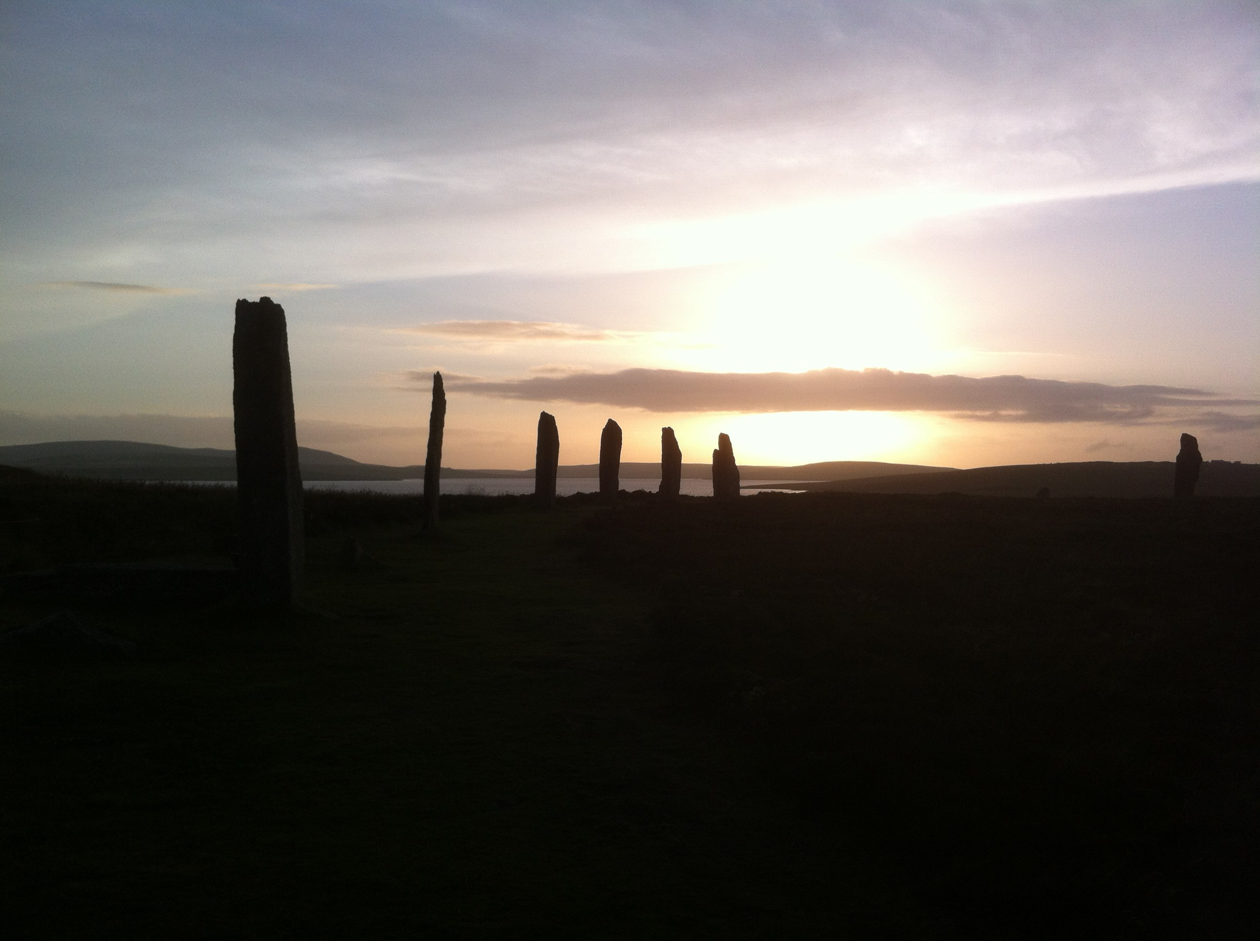 ring of brodgar scotland landscapes