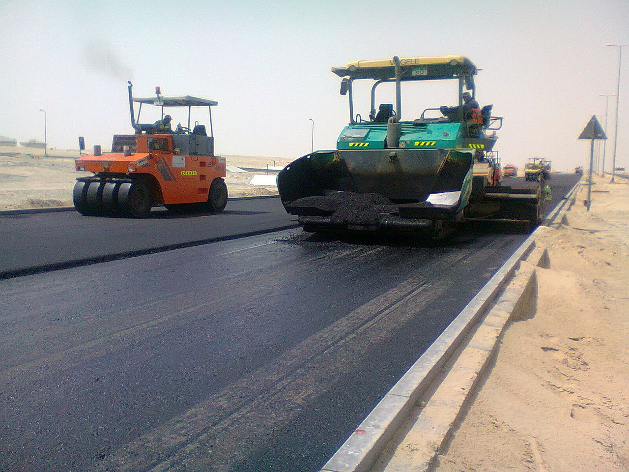 road construction activity The ultimate resource to construction project management the project team develops a road map for all but construction activity is expected to increase in.