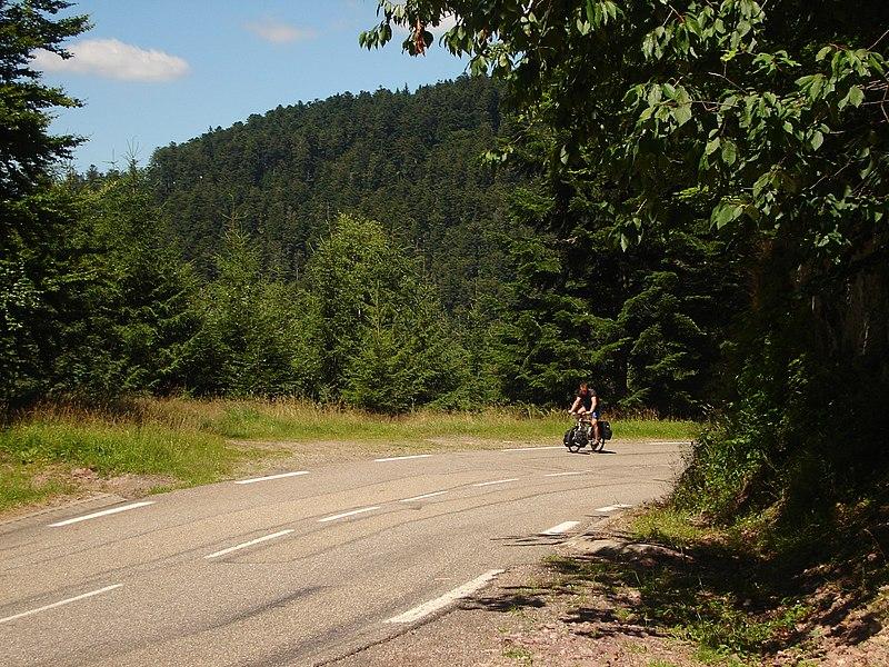 Road to Col du Donon