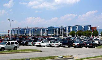 Roanoke, Virginia - Roanoke-Blacksburg Regional Airport terminal building