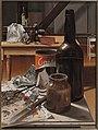 Rob Møhlmann, Canto 116, De doolhof-1, 1993, olieverf op paneel, 40x30cm.jpg