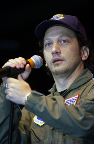 Rob Schneider - Schneider performing in November 2001