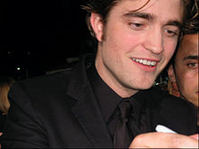 Robert Pattinson a l'estrena de Crepuscle (2008)