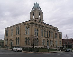 Robertson County courthouse in Springfield