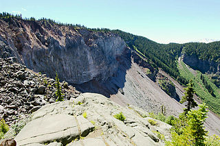 Volcanic dam A natural dam produced directly or indirectly by volcanism