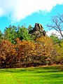 Rock Outcroping in Gov. Dodge State Park - panoramio.jpg