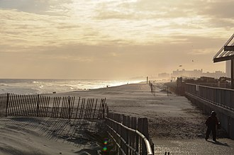 Rockaway Beach, Queens - Rockaway Beach in 2013