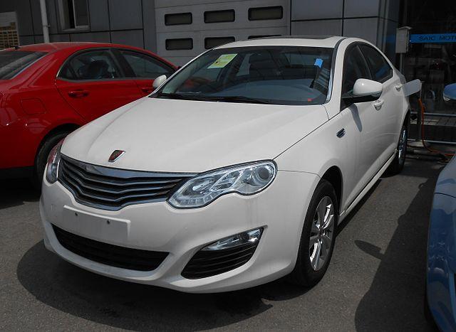 Roewe 550 Hybrid facelift 01 China 2014-04-14