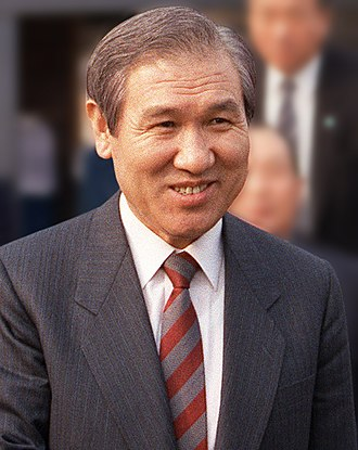 President of South Korea - Image: Roh Tae woo cropped, 1989 Mar 13