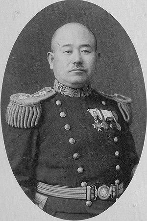 Rokuzō Sugiyama - Sugiyama as captain of the cruiser Yakumo