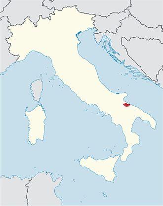 Roman Catholic Diocese of Andria - Image: Roman Catholic Diocese of Andria in Italy