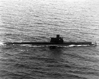 Romeo-class submarine - A Soviet Romeo-class submarine, 1986