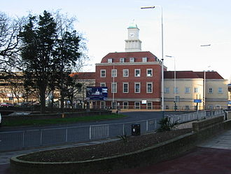 Romford Market - The new (March 2007) market building