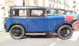 Automobiles L. Rosengart - The Rosengart LR2